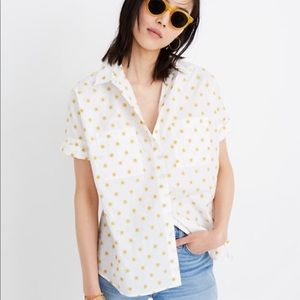 Madewell sun printed courier shirt